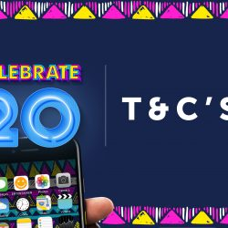 Redeem to Win with FNB eBucks 20th Birthday Ts & Cs